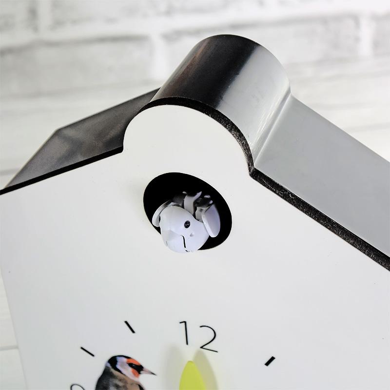 鳩時計完成品 白時計盤
