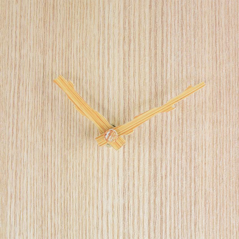 DIY鳩時計(栓天然木突板時計盤)
